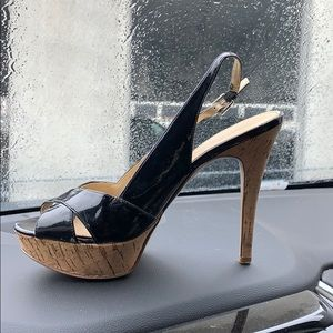 Coming soon Guess Waylon black slingbacks size 7M